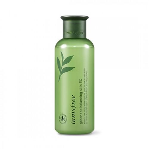 [BIG SALE] Nước Hoa Hồng Innisfree Trà Xanh Green Tea Balancing Skin EX 200ml