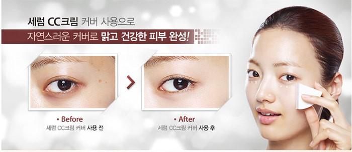 Kem CC Điều Chỉnh Tông Màu Innisfree Serum CC Cover Cream SPF35 PA++ 35ml