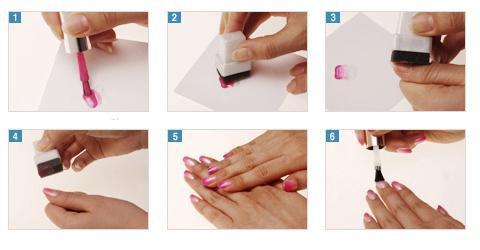 Mút Tạo Kiểu Màu Sơn Móng Tay Nail Gradation Sponge