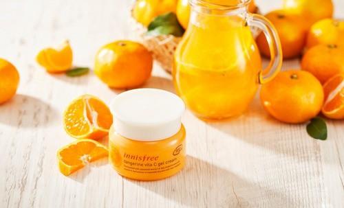 Kem Dưỡng Làm Mờ Thâm Nám Innisfree Tangerine Vita C Gel Cream