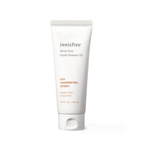 [BIG SALE] Sữa Rửa Mặt Dưỡng Trắng Và Se Khít Lỗ Chân Lông Innisfree White Pore Facial Cleanser 150ml