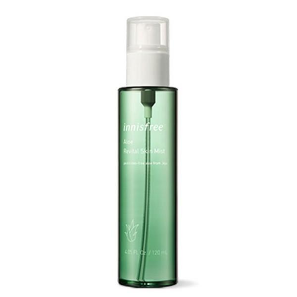 Xịt Khoáng Lô Hội Làm Dịu Da Innisfree Aloe Revital Skin Mist 120ml