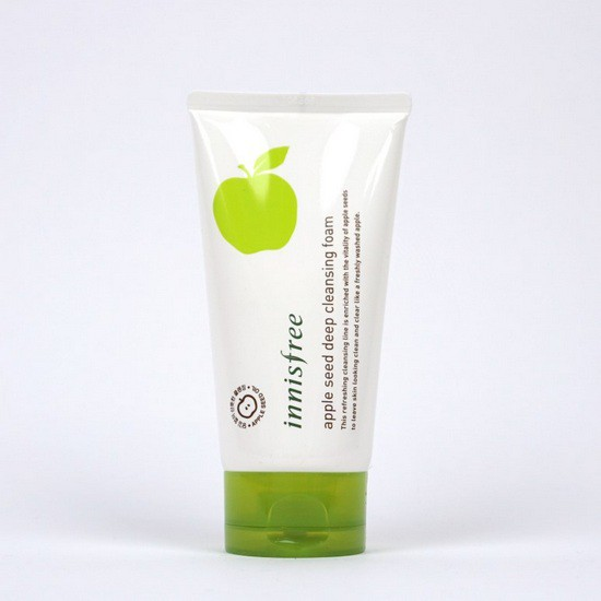 Sữa Rửa Mặt chiết Xuất Táo Innisfree Apple Seed Deep Cleansing Foam 10ml - Dùng Thử