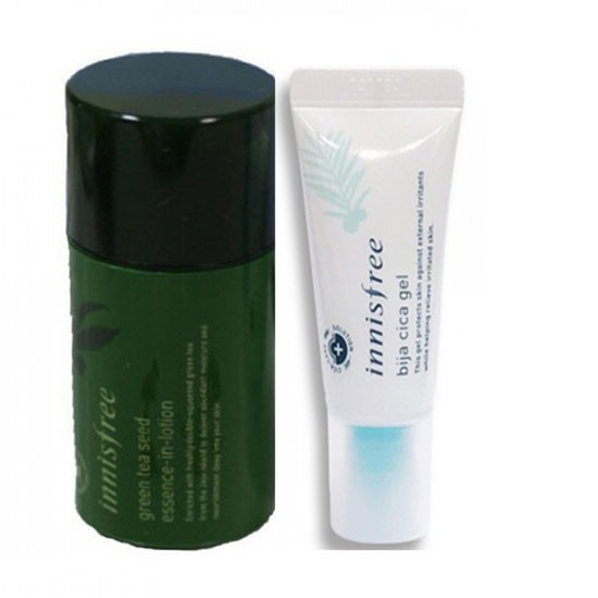 [BIG SALES] Bộ Kit Dưỡng Ẩm Trị Mụn Innisfree Watery Duo Limited Edition