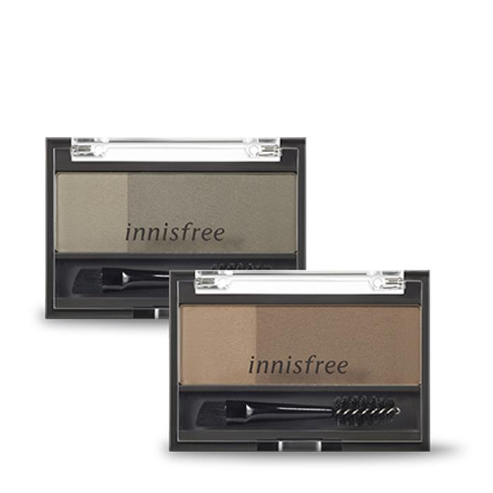 Bột Tô Màu Mày Innisfree Two Tone Eyebrow Kit 3.5g