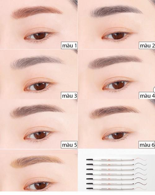 Kết quả hình ảnh cho Innisfree Skinny Brow Mascara