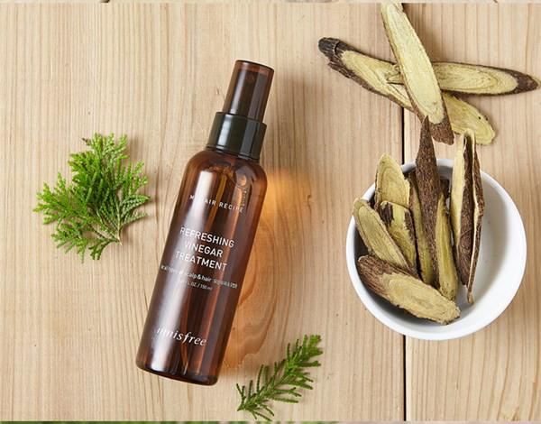 Dầu Dưỡng Tóc Innisfree Recipe Refreshing Vinegar Treatment