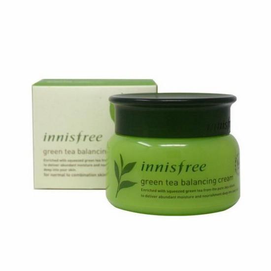 [ĐỒNG GIÁ 199K] Kem Dưỡng Trà Xanh Innisfree Green Tea Balancing Cream 50ml [HSD: 11/2020]