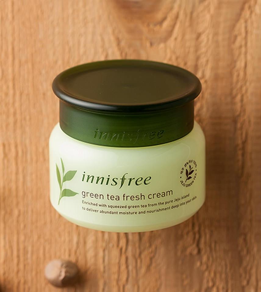 Kem Dưỡng Da Trà Xanh Innisfree Green Tea Fresh Cream 50ml