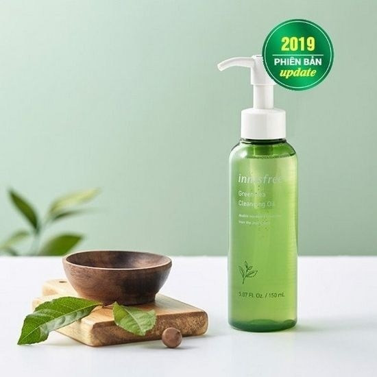 Dầu Tẩy Trang Dưỡng Ẩm Và Chống Lão Hóa Da Innisfree Green Tea Cleansing Oil [Phiên bản mới 2019]