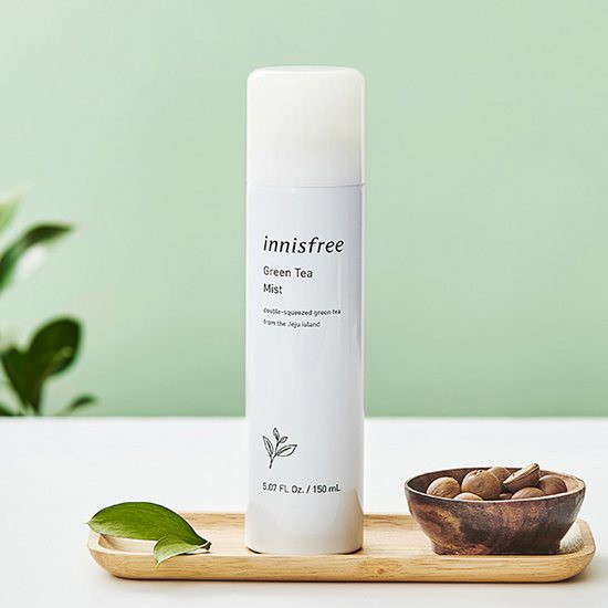 Xịt Khoáng Trà Xanh Innisfree Green Tea Mist 150ml (Chai Lớn)