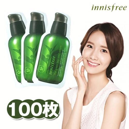 Combo 10 Gói Tinh Chất Dưỡng Da Innisfree The Green Tea Seed Serum - 1ml (Dùng Thử)