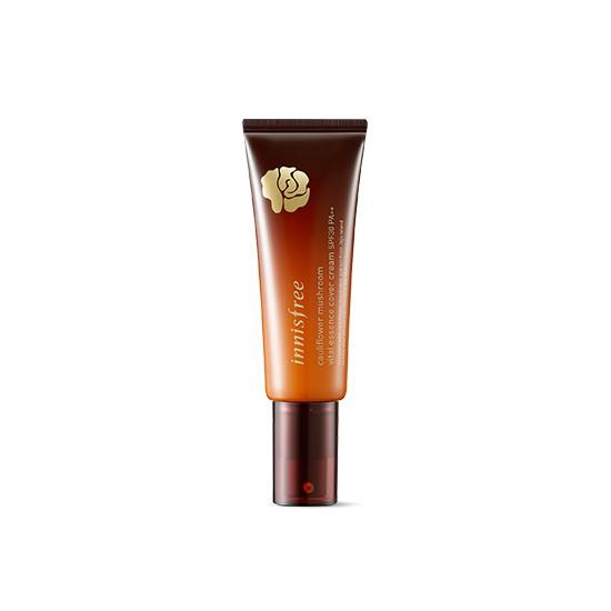 Kem Nền Chiết Xuất Từ Nấm Hoa Innisfree Cauliflower Mushroom Essence Cover Cream SPF30 PA++ 40ml