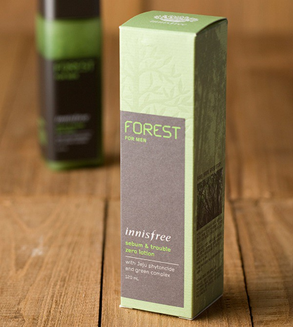 Sữa Dưỡng Giảm Dầu Nhờn Cho Nam Innisfree Forest For Men Sebum & Trouble Zero Lotion 120ml - [HSD: 12/2019]