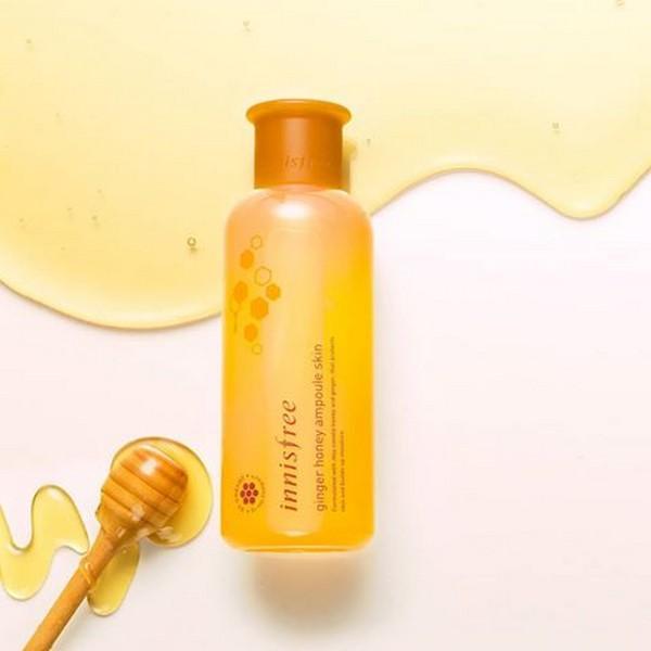 [NEW] Tinh Chất Dưỡng Trắng Cấp Ẩm Gừng Mật Ong Innisfree Ginger Honey Ampoule Skin