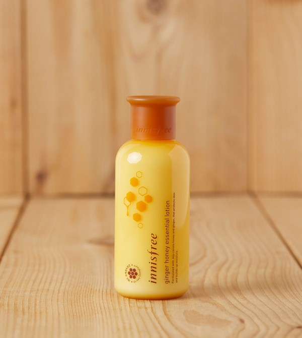 Sữa Dưỡng Ẩm Chiết Xuất Mật Ong Innisfree Ginger Honey Essential Lotion 160ml