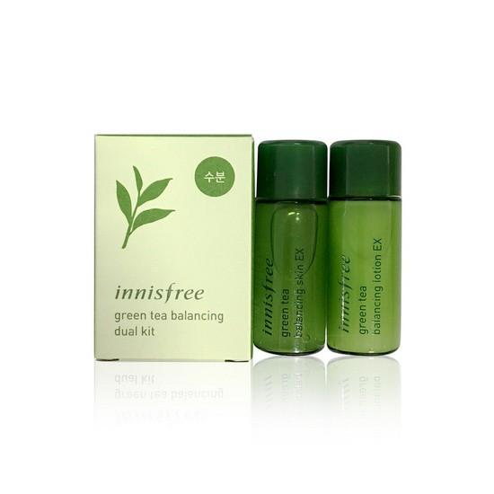Set Dưỡng Dùng Thử Từ Tinh Chất Trà Xanh Innisfree Green Tea Balancing Dual Kit (2 Sản phẩm)