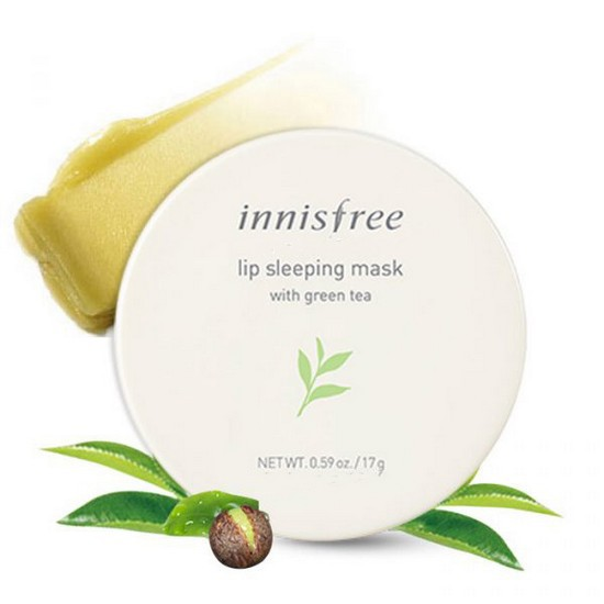 Mặt Nạ Ngủ Môi Innisfree Lip Sleeping Mask With Green Tea 17g