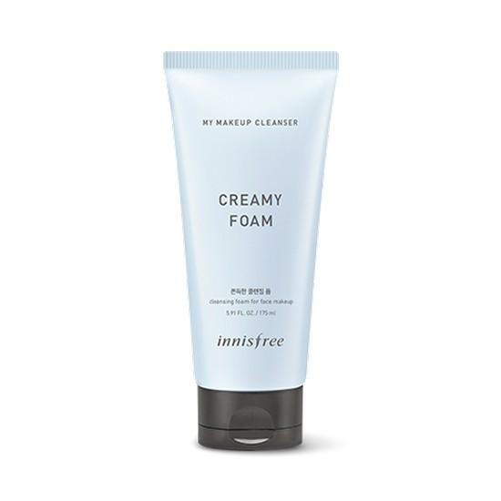 Sữa Rửa Mặt Kết Hợp Tẩy Trang Làm Sạch SâuInnisfree My Makeup Cleanser Creamy Foam 175ml