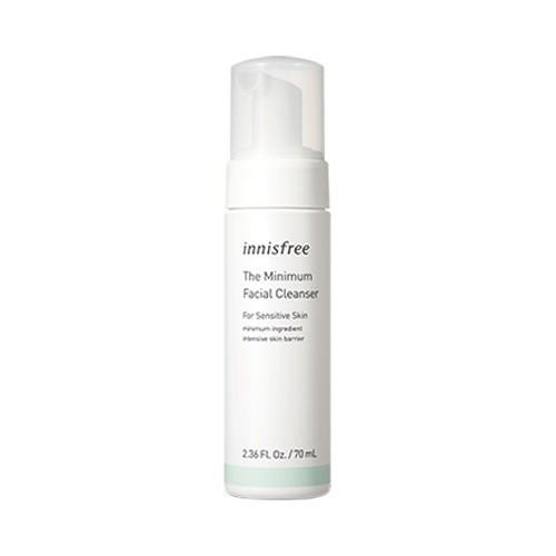 [BIG SALE] Sữa Rửa Mặt Dạng Bọt Cho Da Nhạy Cảm Innisfree The Minimum Facial Cleanser for Sensitive Skin 70ml
