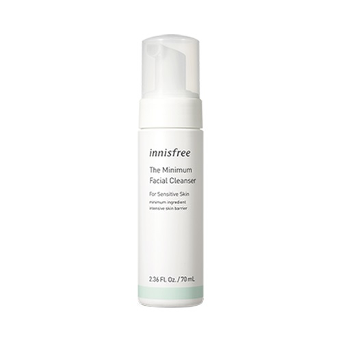 [BIG SALE] Sữa Rửa Mặt Dạng Bọt Cho Da Nhạy Cảm Innisfree The Minimum Facial Cleanser for Sensitive Skin 70ml