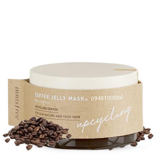 Mặt Nạ Thạch Cà Phê Giúp Loại Bỏ Bã Nhờn Tẩy Tế Bào Chết Săn Chắc Da Innisfree X Anthracite Coffee Jelly Mask 80ml