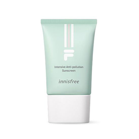 Kem Nền Chống Nắng Bảo Vệ Da Chuyên Sâu Innisfree Intensive Anti Pollution Sunscreen SPF50+/PA++++ 35ml