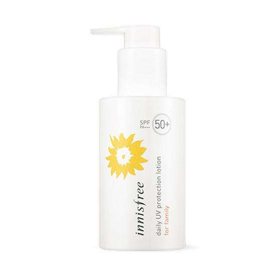 Kem Dưỡng Da Chống Nắng Hàng Ngày Cho Gia Đình Innisfree Daily UV Protection Lotion for Family SPF50+ PA+++