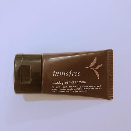 Kem Dưỡng Da Tinh Chất Trà Đen Innisfree Black Green Tea Cream 30ml - Dùng thử