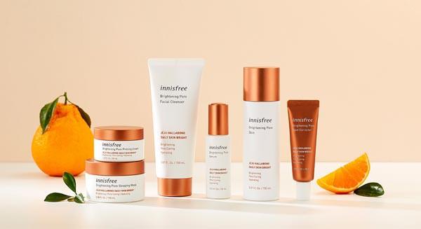 Kết quả hình ảnh cho Innisfree Brightening Pore Priming Cream