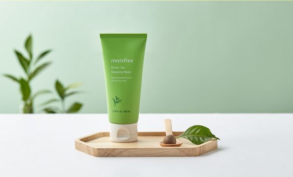 Mặt nạ ngủ Innisfree Green Tea Sleeping Mask 80ml
