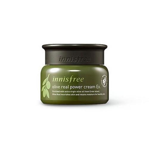 Kem Dưỡng Chiết Xuất Oliu Vàng Dành Cho Da Khô Innisfree Olive Real Power Cream Ex 5ml (Dùng thử)