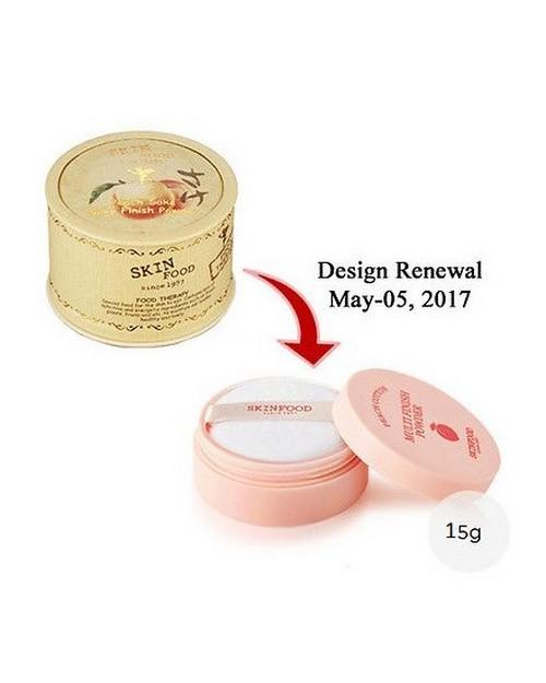 Phấn Phủ Bột Kiềm Dầu Skinfood Peach Cotton Multi Finish Powder 15g