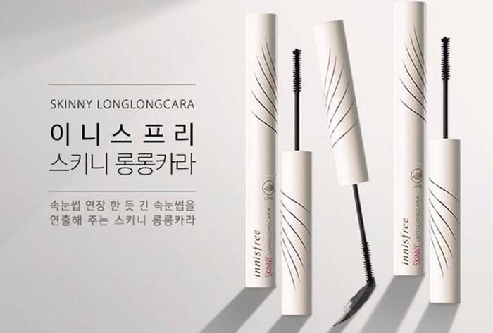[BIG SALES] Mascara Làm Dài Mi Gấp 1,5 Lần Innisfree Skinny Long Long Cara