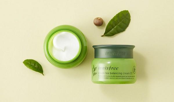 Kem Dưỡng Trà Xanh Innisfree Green Tea Balancing Cream EX 50ml