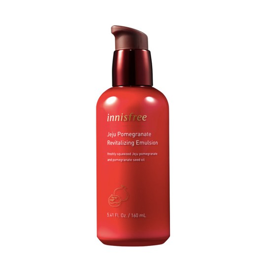 Sữa Dưỡng Lựu Đỏ Innisfree Jeju Pomegranate Revitalizing Emulsion 160ml