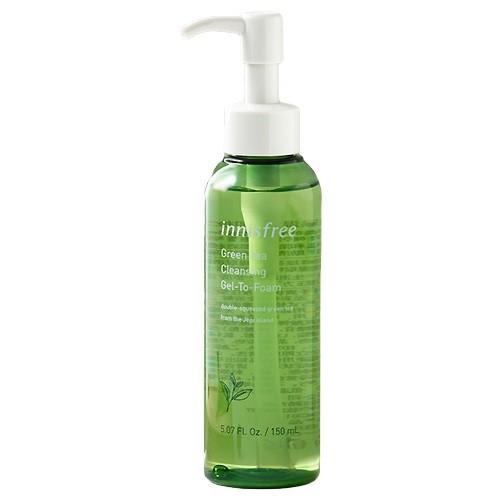 [BIG SALE] Sữa Rửa Mặt Dạng Gel Tạo Bọt Innisfree Green Tea Cleansing Gel-To-Foam 150ml