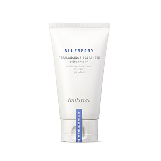 Sữa Rửa Mặt Cân Bằng Độ pH Chiết Xuất Việt Quất Innisfree Bluberry Rebalancing 5.5 Cleanser