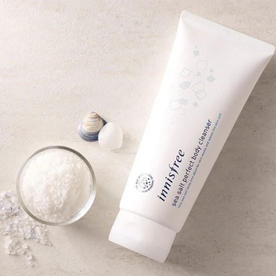 Sữa Rửa Mặt Chiết Xuất Muối Biển Innisfree Sea Salt Perfect Cleanser 130ml