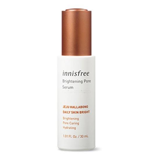 Tinh Chất Dưỡng Trắng Và Se Khít Lỗ Chân Lông Innisfree Whitening Pore Serum 30ml