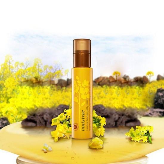 Xịt Khoáng Chiết Xuất Mật Ong Innisfree Canola Honey Jelly Mist