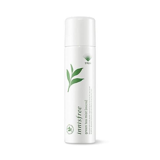 Xịt Khoáng Dưỡng Ẩm Chuyên Sâu Innisfree Green Tea Mist (Micro)