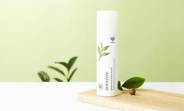 Xịt Khoáng Dưỡng Ẩm Chuyên Sâu Innisfree Green Tea Mist (Micro) 120ml