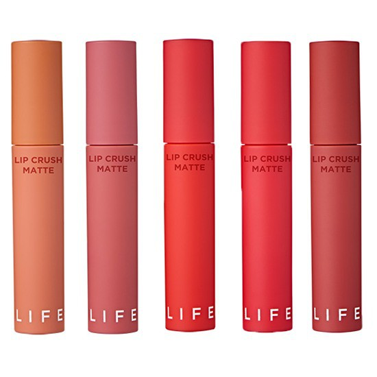 [BIG SALES] Son Kem Siêu Lì Mềm Mịn It's Skin Lip Crush Matte Life Color