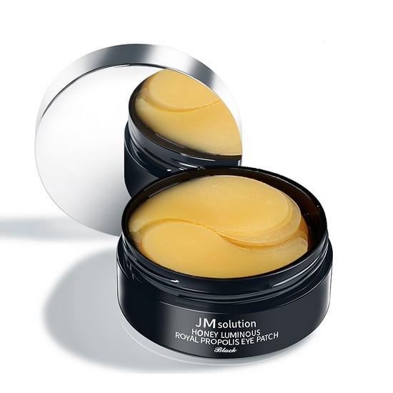 Mặt Nạ Xóa Thâm Quầng Mắt Và Ngăn Ngừa Nếp Chân Chim JM Solution Honey Luminous Royal Propolis Eye Patch Black
