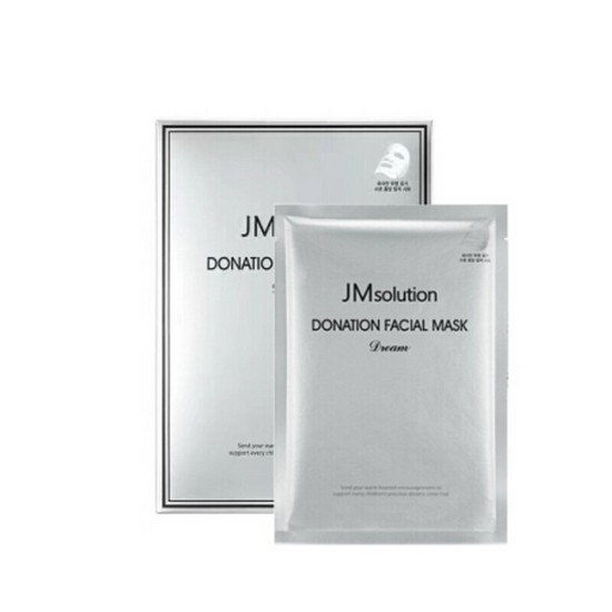 Mặt Nạ Dưỡng Da Jm Solution Donation Facial Mask - Dream