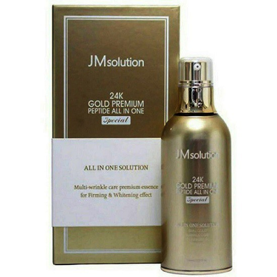 Tinh Chất Dưỡng Da JM Solution 24K Gold Premium Peptide All In One Special 100ml