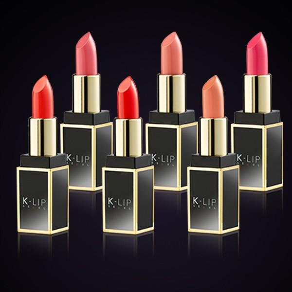 Son Thỏi Tuyệt Sắc Không Chì Lâu Phai Klip Seoul Lipstick Ver-02