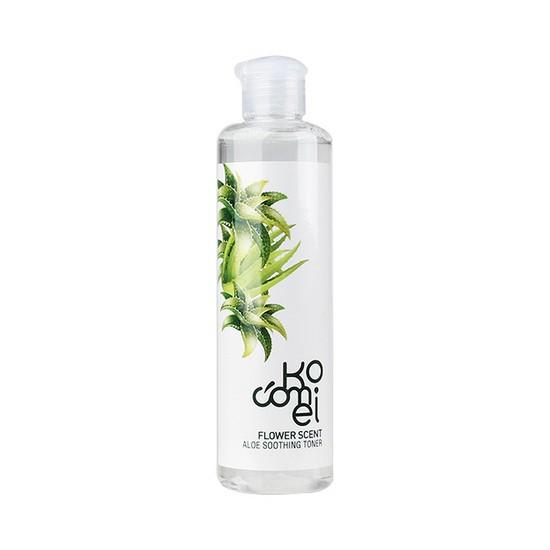 [BIG DEALS] Nước Hoa Hồng Dưỡng Ẩm Và Chống Lão Hóa Da Chiết Xuất Lô Hội Kocomei Flower Scent Aloe Soothing Toner