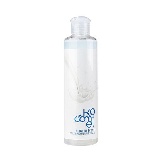 Nước Hoa Hồng Dưỡng Trắng Từ Sữa Kocomei Milk Brightening Toner 250ml